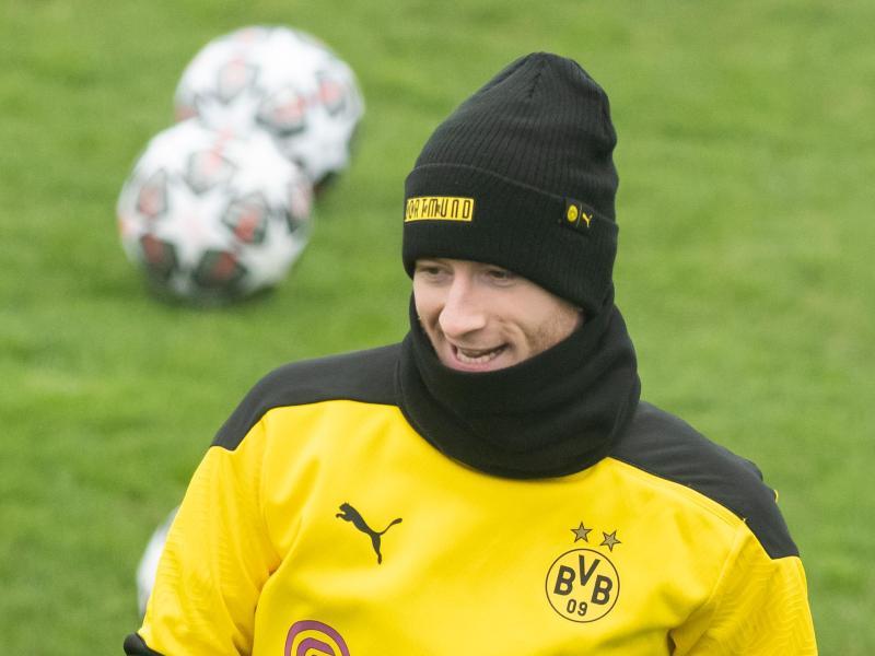 Borussia Dortmund kann gegen Eintracht Frankfurt wieder auf Marco Reus zurückgreifen. Foto: Bernd Thissen/dpa