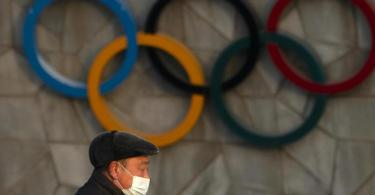 Das US-Außenministerium will über einen möglichen Boykott der Olympischen Winterspiele in Peking sprechen. Foto: Mark Schiefelbein/AP/dpa