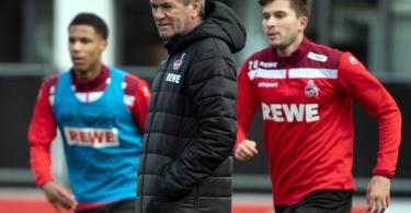 Hat seinen Dienst beim 1. FC Köln angetreten: Friedhelm Funkel. Foto: Federico Gambarini/dpa