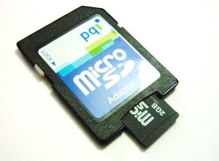 Adaptador para microSD