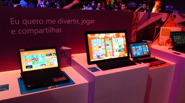 Laptops com Windows 8
