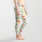ENDANGERED SAFARI_leggings