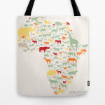 ENDANGERED SAFARI_tote