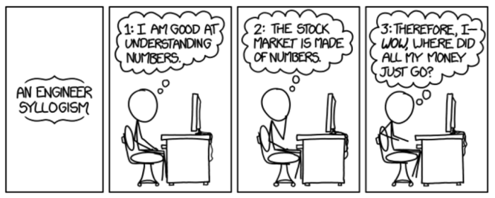 An engineer meets the world in this XKCD classic, xkcd.com/1570