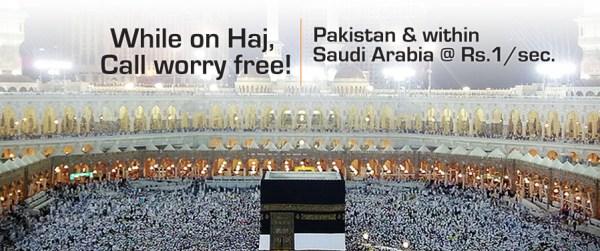 Ufone Launches Hajj Offer for 2012 | InfoZonePK