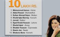 Ufone Announces 10 Winners of 10 Lackh