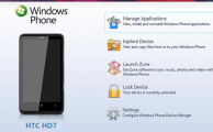 Windows Phone Device Manager - A PC Suite for Windows Phone 7