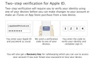 Apple Introduces Two-step Verification for Apple ID