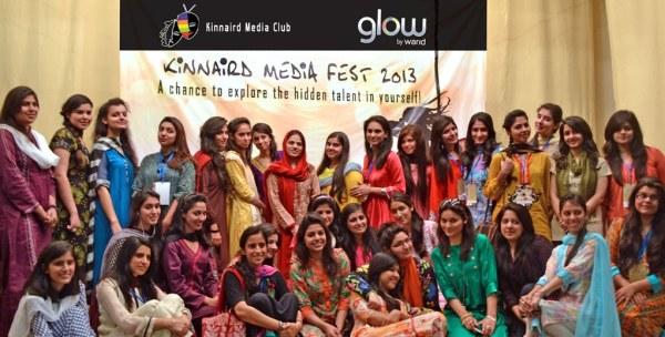 Glow by Warid Sponsors Second Media Fest 2013 at Kinnaird