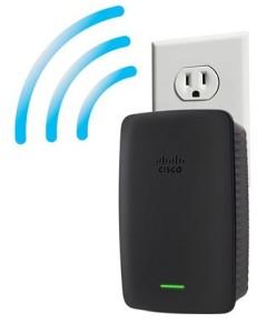 Linksys-RE2000-Dual-band-Wireless-N-Range-Extender-wall