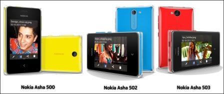 Nokia Asha Range