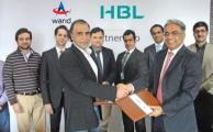HBL and Warid sign Agreement for Future Online Bill Payment