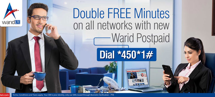 Warid_Postpaid-Double_Mins_Offer