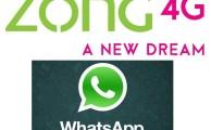 Zong-WhatsApp