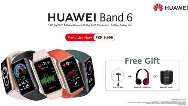 HuaweiBand6-Preorder