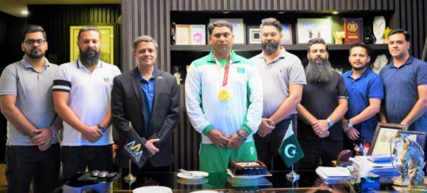 Paralympian-Haider