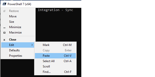 Figure 16: Windows Order Prompt - Choose Paste to duplicate all items had a need to bring about the sync