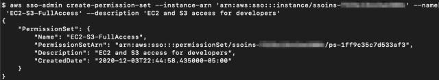 Determine 4: Creating the authorization set EC2-S3-FullAccess