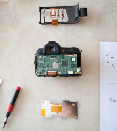 nikon fotoğraf makinesi tamiri