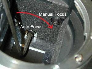 fokus kalibrasyonu
