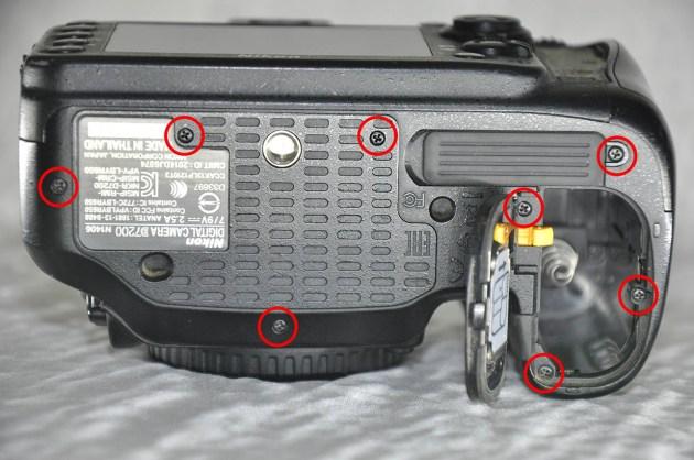 Nikon D7200 taban