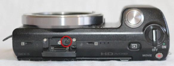 Sony Nex 5 Üst