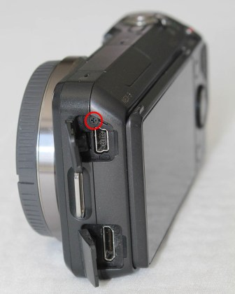 sony nex-3 usb and video port
