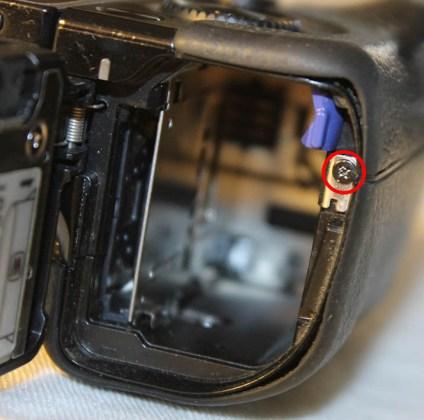 sony battery door