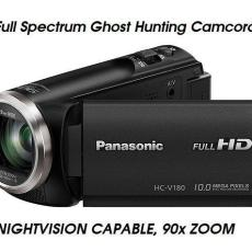 V180 SKYWATCHING UFOLOGY GHOST HUNTING CAMERA CAMCORDER 90x ULTRA ZOOM