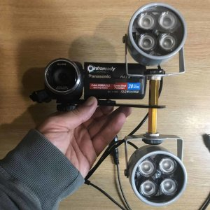 HIGH POWER PORTBALE OUTDOOR CREE LED INFRARED IR ILLUMINATOR