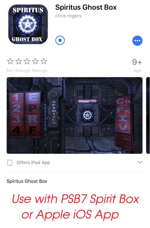 spirit box portal wonderbox station