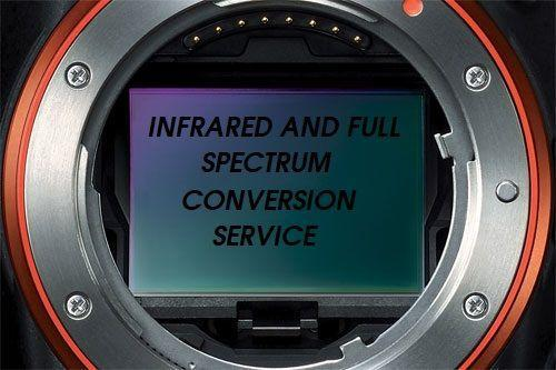 COMPACT CAMERA / DSLR / CAMCORDER - INFRARED or FULL SPECTRUM CONVERSION SERVICE UK