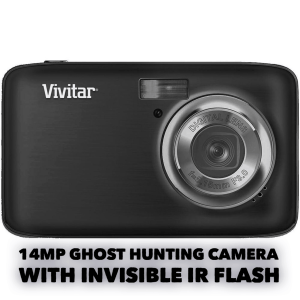 ghost hunting camera with invisible flash