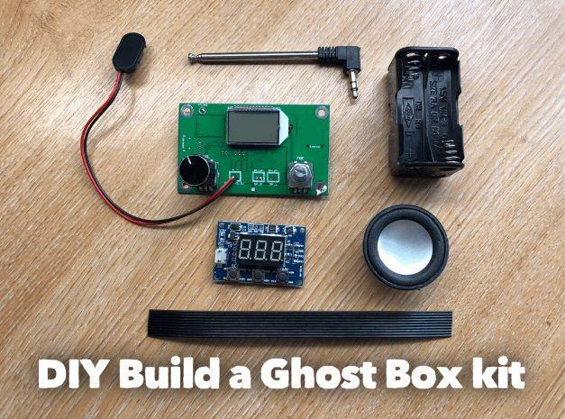 Build your own ghost box diy sweep radio kit by infraready build your own ghost hunting kit fm solutioingenieria Gallery