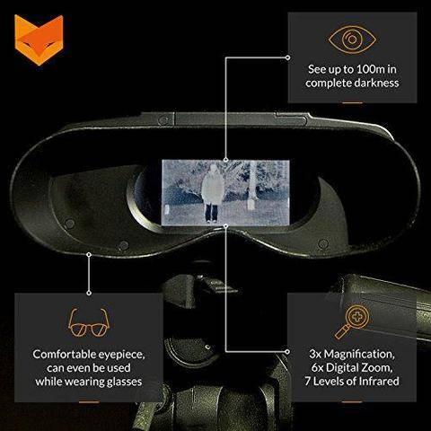 skywatching ufo image intensifier binoculars