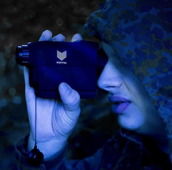 nightvision image intensifier ufo ghost hunting