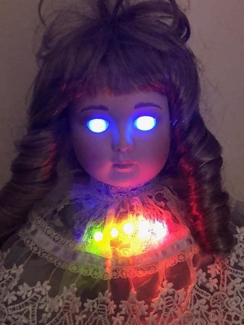 Haunted Doll EMF REM Pod ghost hunting