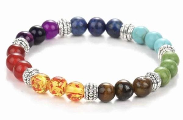 spiritual chakra healing bracelet