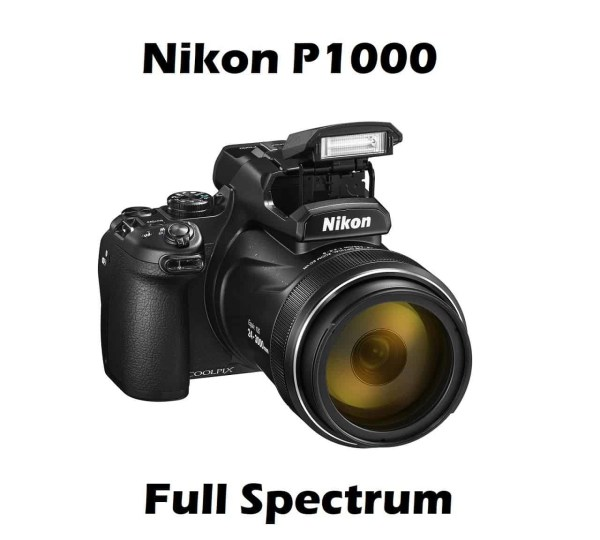 nikon p1000 full spectrum ufology 125x zoom