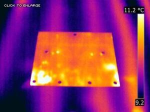 Marking radiant heat lines - Marking radiant heat lines