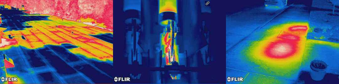 infrared images header 2 - Steam Pipe Leak Detection