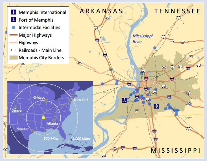 The Memphis Logistics Hub and Future Economic Growth