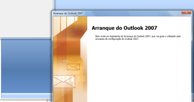 Como configurar o email no Outlook