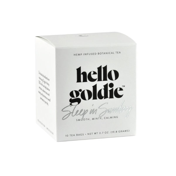 Sleep In Sunday CBD Tea | Hello Goldie