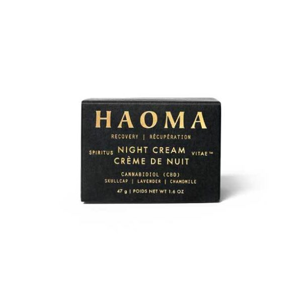 Recovery CBD Night Cream | Haoma