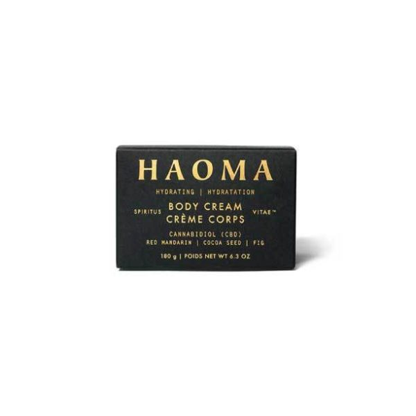 Hydrating CBD Body Cream | Haoma