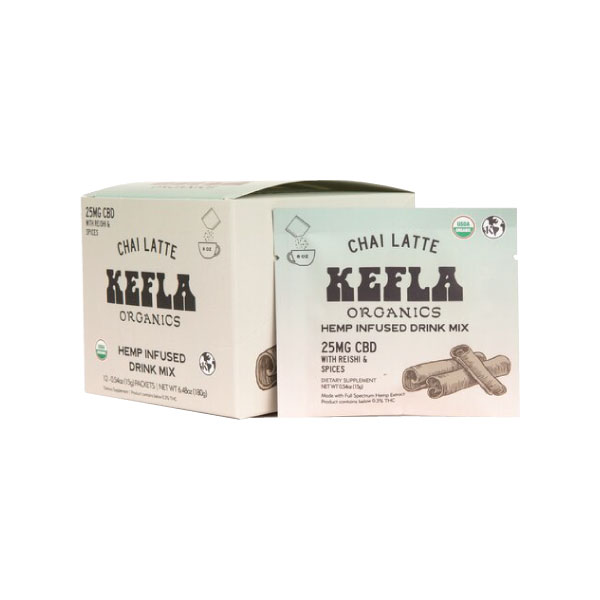Chai Latte CBD Drink Mix | Kefla