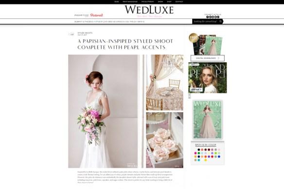 Feature Wedluxe Magazine Edmonton Wedding