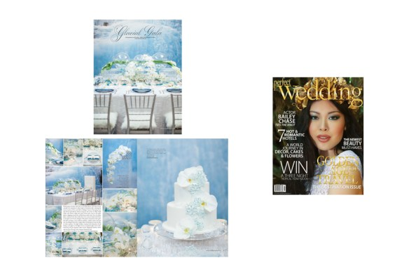 Perfect Wedding Magazine Glacial Cool Editorial