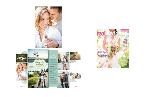 Real Weddings FW 2014 :: April + Mike in Marry Me
